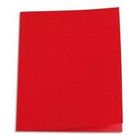 5 ETOILES Paquet de 100 chemises carte recycl�e 180 grammes coloris rouge