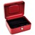 5 ETOILES Caisse � monnaie rouge - Dimensions : L20 x H9 x P16 cm