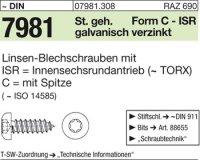 Blechschrauben 6,3x45-C-T30
