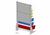 Soportes de sobremesa de cajas de almacenaje a la vista con dotación