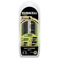 Duracell 3 Std.-Multi-Ladegerät für AA, AAA, 9V, C und D ohne Akkus (CEF 22)