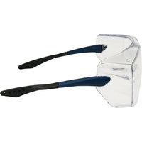 Schutzbrillen 3M Überbrille OX3000 Sichtscheibe: klar, Rahmen blau