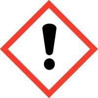 """GHS 07 Schild, Symbol """"Ausrufezeichen"""", Folie, 105 x 105 mm, Einzeletikett, Artikelbild"""