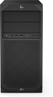 HP Z2 G4 Intel® Xeon® E-2136 8 GB DDR4-SDRAM 256 GB SSD Tower Zwart Workstation Windows 10 Pro for Workstations