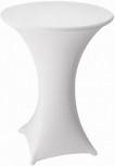 Stretch cover MARS white 70 cm 10 elastane, 90 polyester, 210 g/m2 Table hight