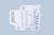 Récipient/broc gradué (PP) 120 ml