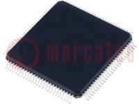 PIC mikrokontroller; Memória:128kB; SRAM:3808B; 42MHz; SMD