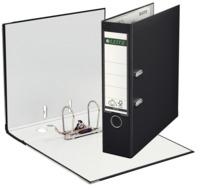 Qualitäts-Ordner Plastik, mit Schlitzen, A4, breit, schwarz