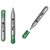 5 ETOILES Marqueur permanent pte ogive corps plastiqu encre pigment�e verte � base d eau FLIPCHART