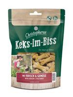 Christopherus Snacks Keks-Im-Biss mit Hirsch & Gemüse 175 g