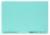 Beschriftungsschild, für 4-zeilige Sichtreiter, 58 x 18mm, blau, 50Stück