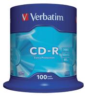CD-R VERBATIM 700MB 52X 100PK SPINDEL
