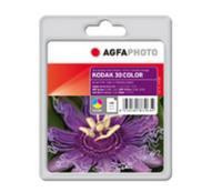 AgfaPhoto APK30C inktcartridge Cyaan, Magenta, Geel 1 stuk(s)