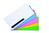 Legamaster Magic-Chart Notes sortiert, Polypropylen, blanko, 10x20 cm, 500 Stück
