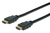 HDMI High Speed connection cable. type A M/M. 3.0m. w/Ethernet. HDMI 2.0. Ultra HD 60p.