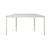 Trapez-Tisch Tischplatte hellgrau