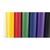 CLAIREFONTAINE Rouleau de papier Kraft couleur 65g. Format 3x0,7m. Coloris vifs assortis en présentoir