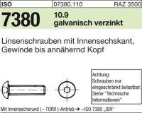 ISO7380 M5x10