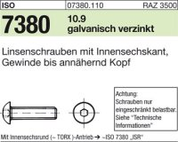 ISO7380 M6x8
