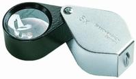 Precisie-inslagloepen, lens Ø 21 mm, lens aplanaat , vergroting 10x