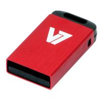 V7 Nano USB 2.0 32GB USB flash drive USB Type-A Rood