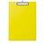 Clipboard w. plastic covering