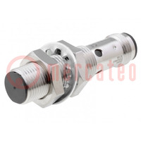 Senzor: indukčný; Konf.výstupu: PNP / NO; 0÷4mm; 10÷30VDC; M12