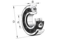 FAG B7207-C-T-P4S-DUL Spindellager