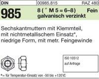 Sechskantmuttern M10x1,25