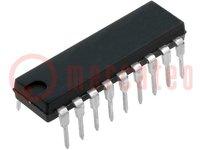 Microcontrolador PIC; Memoria:3,5kB; SRAM:224B; EEPROM:128B