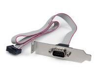 StarTech.com 40 cm Low-Profile Seriële Poort Slotplaatje