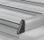 Dachgepäckträger aus Aluminium für Citroen Berlingo, Bj. ab 2008, Radstand 2728mm, lange Version (L2), mit Hecktüren, ohne Dachklappe