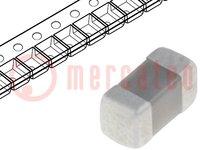 Kondensator: Keramik; 1,5nF; 50V; X7R; ±10%; SMD; 0402; Serie: GRM