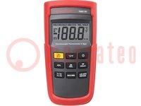 Temperatuurmeter; LCD 3,5 cijfers (1999), verlicht; -200÷1350°C