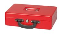 Cash Box with Euro-Counting Tray, 30 x 24,5 x 9,3 cm
