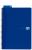 Collegeblock Oxford Blue A4+/70, liniert