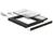 Slim SATA 5.25? Einbaurahmen für 1 x 2.5? SATA HDD bis 9,5 mm, Delock® [62669]
