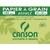 CANSON Pochette de 10 feuilles de papier dessin recyclé 160g 24x32 cm