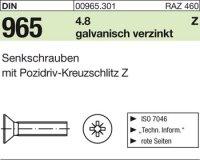 DIN965 M4x6-Z