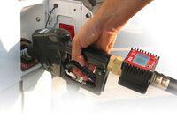 Durchflusszähler für mobile Diesel-Tankanlagen MDT 900, Anwendungsbeispiel