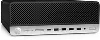 HP EliteDesk 705 G5 DDR4-SDRAM 3400G SFF AMD Ryzen 5 PRO 8 GB 256 GB SSD Windows 10 Pro PC Zwart