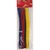 APLI Sachet de 50 chenilles 30 cm, diamètre 6 mm, couleurs assorties, Bleu, Jaune, Rouge, Vert, Blanc