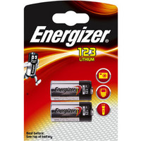 Energizer Fotobatterie EL 123 3,0 V 2 St