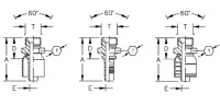 AEROQUIP 1A8BP6