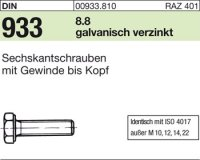 DIN933 M20x140