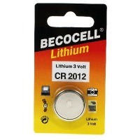 Becocell CR2012 Lithium Knopfbatterie, 55mAh