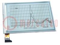 """Kijelző: e-papír; 6""""; 800x480; Ablakméret:91,8x123,6mm; 3,3VDC"""