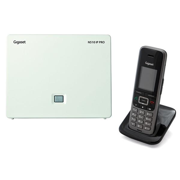 GIGASET ECO DECT Telefon S650H Pro + N510IP Bundle - S650H+N510IP