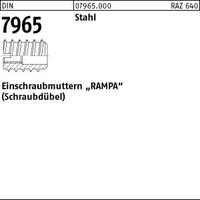 DIN 7965 Stahl M 6 x 18 Außendurchmesser 12 mm VE=S (100 Stück)