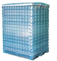 PE-Schrumpfschlauch, 1250 + 850 mm, 100 lfm, 125 µ, transparent, mit Seitenfalte